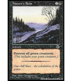 Nature&#39s Ruin
