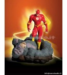 "ST DC - Flash vs Gorilla Grodd - 7"" Statue"
