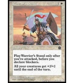 Warrior&#39s Stand