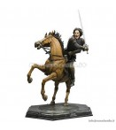 "ST Narnia Prince Caspian - Prince Caspian and Steed - 18"" Statue"