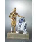 "VS SW - C3PO & R2D2 - 12"" Vinyl Statue"
