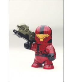 """AF Halo Odd Pods 2 - Spartan CQB (Red) - 4"""" Figure"""