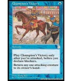 Champion&#39s Victory