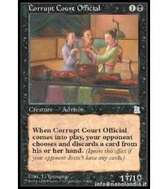 Corrupt Court Official