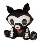 "PL Skelanimals DLX 2 - Jae (Wolf) - 8"" Plush"