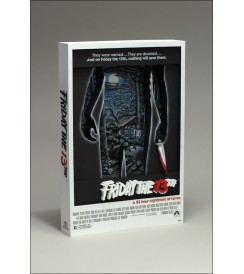 3D MOVIE POSTER FRIDAY THE 13TH