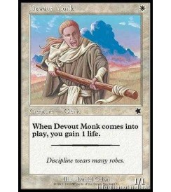 Devout Monk