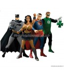 "AF DCU - Justice League New Frontier - 6"" Figures Box Set"