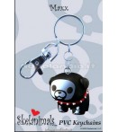 "KC Skelanimals - Maxx (Bulldog) - 1"" Key Chain"