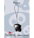 "MC Skelanimals - Maxx (Bulldog) - 1"" Mobile Charm"