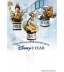 "ST Walt Disney - Pixar Form Arts - 4"" Statue Box Set (3)"