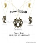 AP Twilight New Moon - Friendship Necklace Wolf Pals