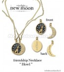 AP Twilight New Moon - Friendship Necklace Howl