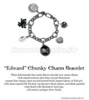 TWILIGHT NEW MOON -CHUCK CHARM BRCLT ED