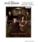 TWILIGHT NEW MOON -MAGNET SHEET WOLF PC