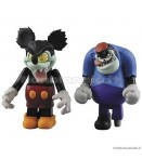 "MF WD - Runaway Brain Mickey and Julius - 2"" Kubrick Mini Figure"