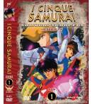 DVD I Cinque Samurai Serie TV Box #1 (4 DVD)