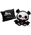 "PE Skelanimals - Diego (Bat) - 14"" Pillow Plush"