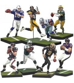 """AF NFL 21 - 6"""" Figures - Set (8)"""