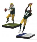 "AF NFL 18 - Aaron Rodgers and Greg Jennings - 7"" Figures 2-Pac"