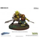 "ST Shrek - Shrek and Fiona - 9"" Statue"