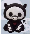 "PL Skelanimals DLX 3 - Bill (Pig) - 8"" Plush"