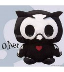 "PL Skelanimals DLX 3 - Oliver (Owl) - 8"" Plush"