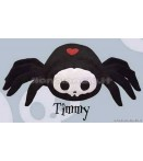"PL Skelanimals DLX 3 - Timmy (Spider) - 8"" Plush"