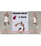 "AF NBA - Miami Heat - 7"" Figures 3-Pack (3)"