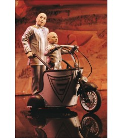 AF Austin Powers S.2 - Dr. Evil and Mini-Me with Mini Mobile - 6