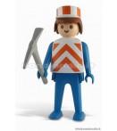 "ST Playmobil - Lavoratore - 9"" Statue"
