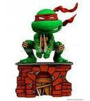 """HK Ninja Turtles - Raffaello - 7"""" Head Knocker"""