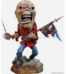 "HK Iron Maiden - Eddie the Trooper - 7"" Head Knocker"
