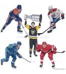"""AF NHL 30 - 7"""" Figures Case (8)"""