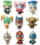 TIGER & BUNNY WILD HERO CHARA FORTUNE (20 PCS DISPLAY)