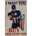 CAPTAIN AMERICA PROP POSTERS I WANT YOU