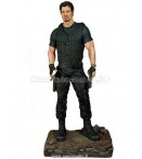 EXPENDABLES BARNEY ROSS BLACK SUIT STATUE