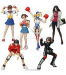 CAPCOM RIVAL SCHOOLS TRADIG FIG BOX (10)