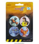 MAZINGER Z PINS SET -B- (4)