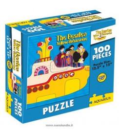 BEATLES PUZZLE YELLOW SUBMARINE 100 PCS