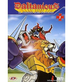 DVD Daltanious #01