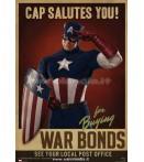 CAPTAIN AMERICA PROP POSTERS CAP SALUTES