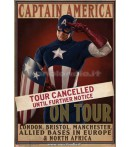 CAPTAIN AMERICA PROP POSTERS TOUR CANCELLED