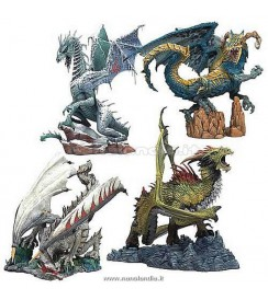 (Dragons 7) ..Set (4 action figures)