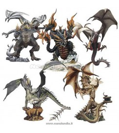 (Dragons 4) ..Dragons 4 set (5 action figures)