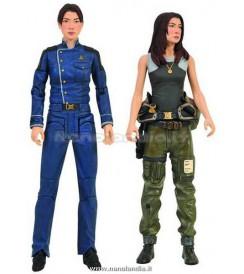AF BSG - Boomer & Athena - 2 Pach Action Figures