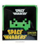 SPACE INVADERS COASTERS 4PC SET