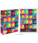 BEATLES PUZZLE POP ART