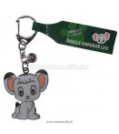 JUNGLE EMPEROR LEO STAMPED KEYCHAIN