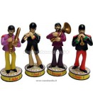 BEATLES YELLOW SUBMARINE SHAKEMS SET (4)
